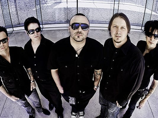 Blue October will play at the Pullo Family Performing Arts Center.