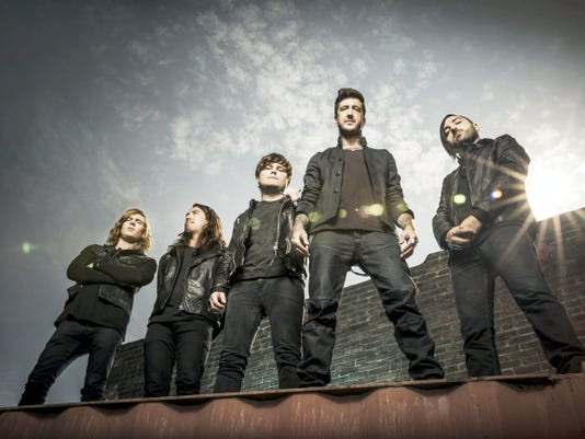 Of Mice & Men will open for Rise Against and Linkin Park at the Giant Center in Hershey on Tuesday, Jan. 27. Photo courtesy Travis Shinn