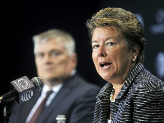 Penn State athletic director Sandy Barbour.