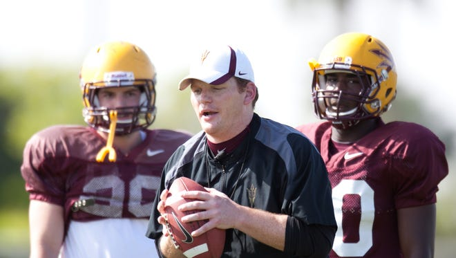 Doug Haller caught up with ASU tight ends coach Chip Long to discuss the state of the position.