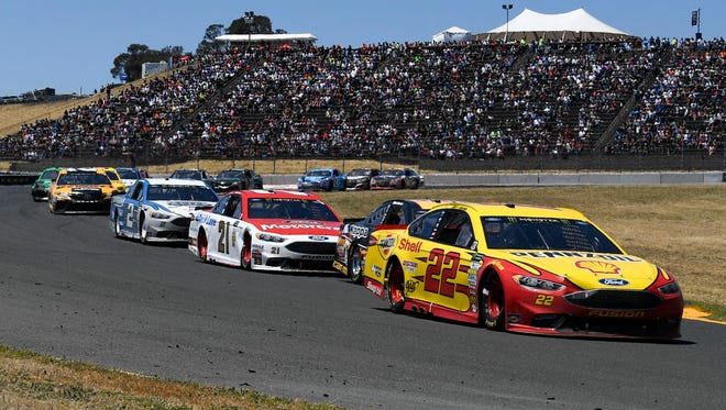 Wendy Venturini was scheduled to work Sunday's NASCAR race at Sonoma Raceway for the Performance Racing Network.