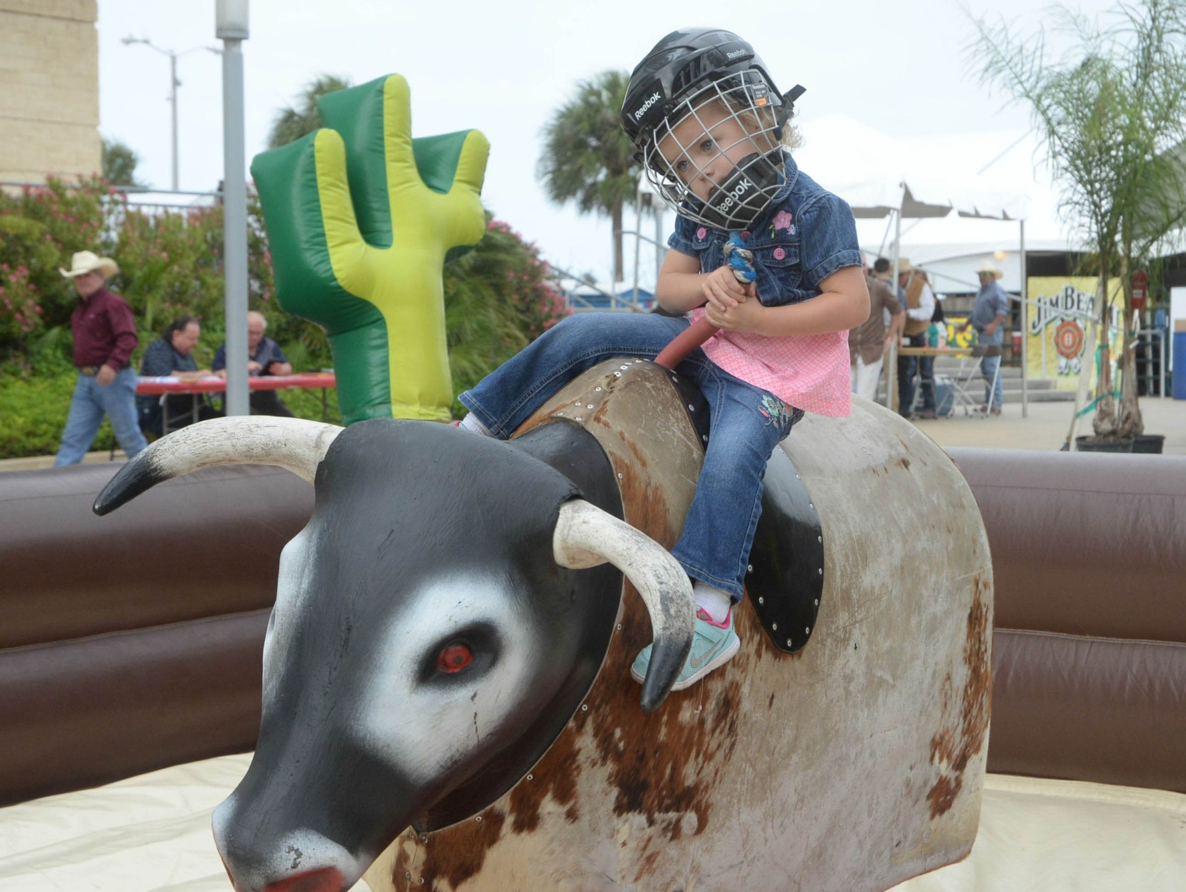 From the Mutton Bustin' event to inflatable bull-riding,