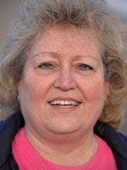 Terry Reszel, breast cancer survivor. She was photographed Jan. 31 in Richmond.