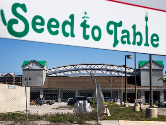 The Oakes Farms Seed to Table grocery store, as seen