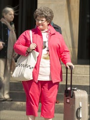 Melissa McCarthy is Susan Cooper, a CIA analyst, who