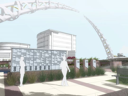 Arc of Dreams rendering.