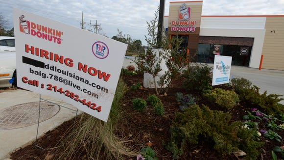 Dunkin' Donuts is hoping to expand into the Lafayette market soon.