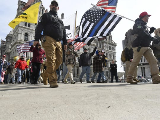 Gun rights activists