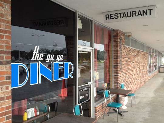 The Go-Go Diner is next to a bingo hall in the Coral Gate Commons plaza in North Fort Myers.