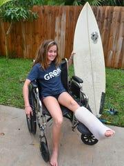 Kaia Anderson, 14, of Floridana Beach (south of Melbourne