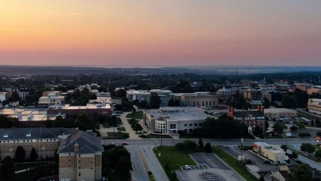 Missouri S&T campus at sunrise. Photo provided by Missouri S&T.