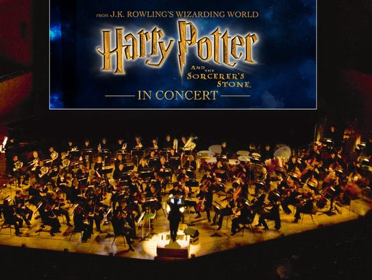 """""""Harry Potter and the Sorcerer's Stone"""" will be played in concert in Des Moines this weekend."""