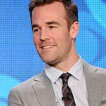 """James Van Der Beek, star of the new CBS show """"Friends With Better Lives,"""" will be among the presenters at Wednesday's CMT Music Awards in Nashville."""