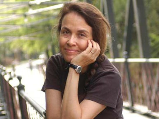 "Naomi Shihab Nye,  a self-described ""wandering poet,"""
