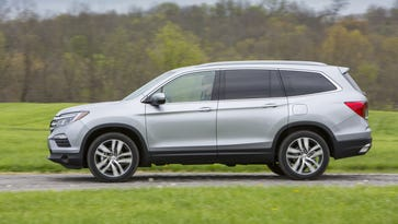 The 2016 Honda Pilot is a full remake that includes a new Elite top-end model. It's a radical move from the rectilinear look of the previous model. The 2016 is a little bigger, more powerful and weighs nearly 300 lbs. less.
