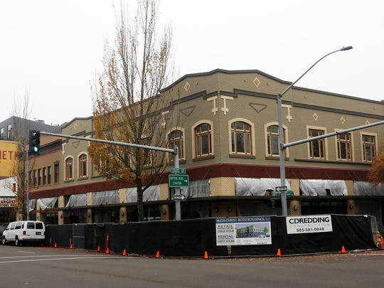 Renovations were completed in the fall of 2014 on the McGilchrist and Roth Buildings on State and Liberty Streets in downtown Salem.