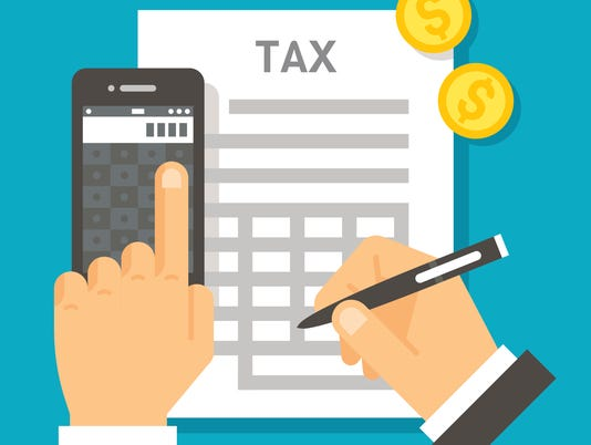 Flat design tax calculation