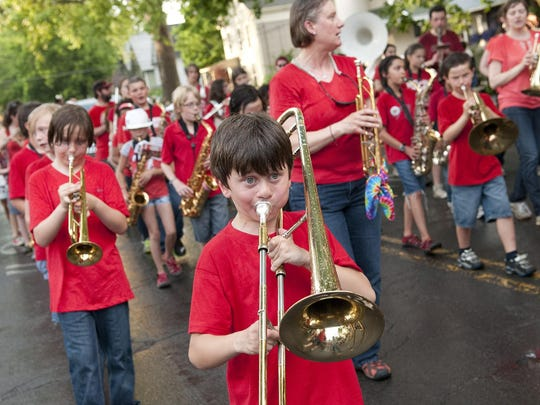 The Ithaca Festival parade returns Friday night.