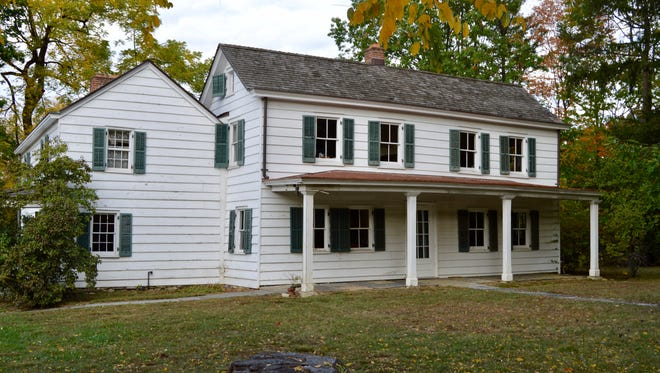 The Scarsdale Society will sell its property, which includes the Cudner-Hyatt House. Built in 1734, the east and south exterior walls will be subject to a façade easement in the sale.