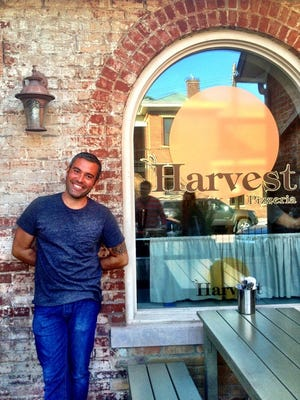 Chris Crader is opening Harvest Pizzeria in Over-the-Rhine near Findlay Market.