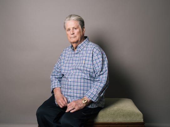 Musician Brian Wilson poses for a portrait on June
