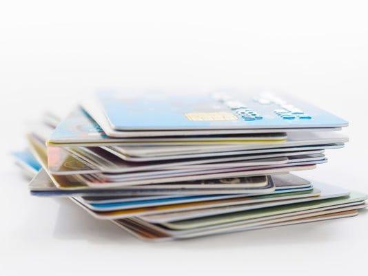 credit cards, visa, stacks, finance, money