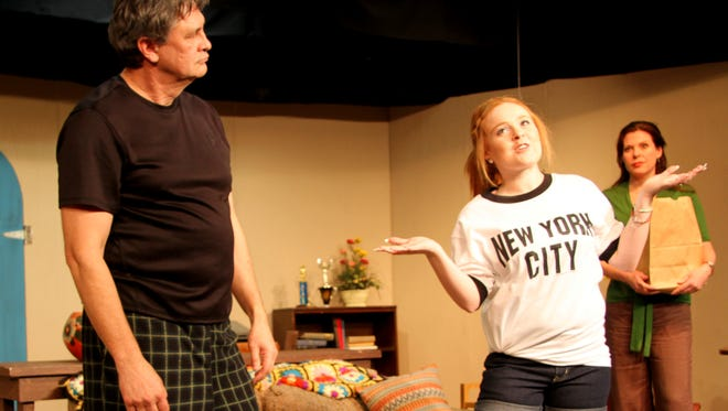 "A big confrontation between Libby and her father, Herb, takes place in the play ""I Ought to be in Pictures."""