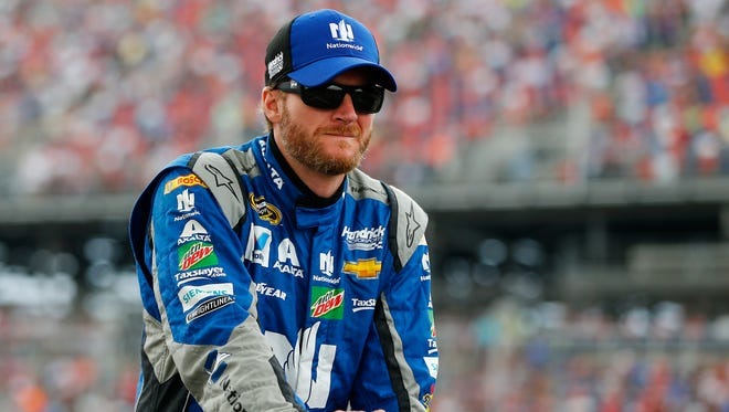 Dale Earnhardt crashed twice in Sunday's GEICO 500 at Talladega Superspeedway.