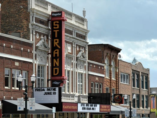 This is the Flagstar Strand Theatre for the Performing