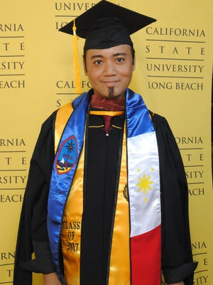 C'zer Morales Medina graduated at California State University of Long Beach with a Master of Arts in DanceMay 26.  C'zer, who is the only Dance Certified Teacher in the GDOE, currently teaches the only Dance Program in the GPSS under the SSHS Fine Arts Department.  C'zer officially declared his candidacy for his Doctorate in Dance for 2018.  C'zer Medina's proud wife is Lorna Capili Medina (Lucky Supplies) and parents are the late Ceferino La Madrid Medina Sr. (Dept. Of Public Works) and Corazon Padua Morales Medina (Guam Educator at GWHS).