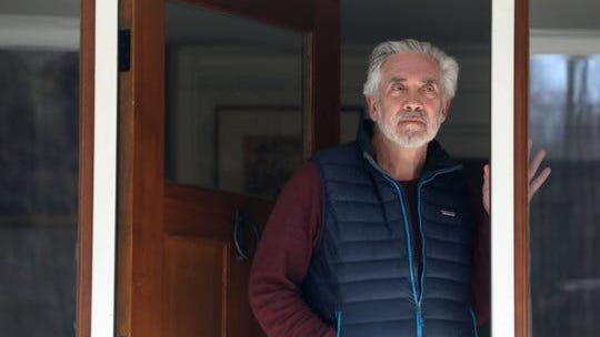 Dr. Ezriel Kornel, a neurosurgeon in Westchester County was diagnosed with COVID-19. Kornel, photographed at his home in Bedford March 18, 2020, was under self-quarantine at home.