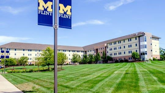 The First Street Residence Hall on the campus of the University of Michigan -Flint