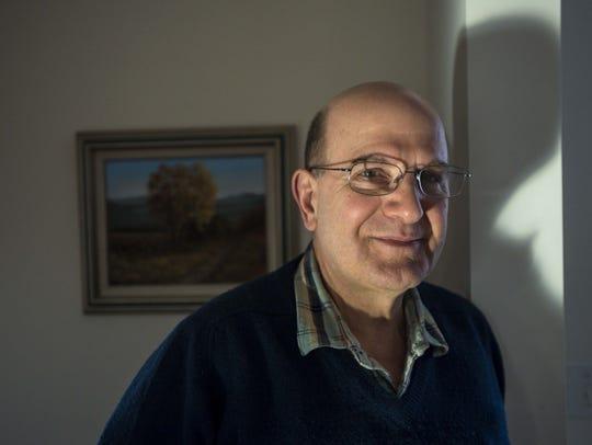 Gary De Carolis at home in Burlington on Friday, February
