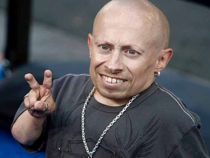 "Actor Verne Troyer who became famous from the ""Austin"