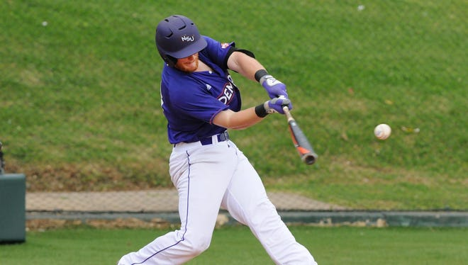 Northwestern State junior left fielder Cort Brinson, the Southland Conference's Hitter of the Year, is one of the Demons' top MLB draft prospects.