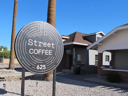 Street Coffee is at 7th and Pierce streets.