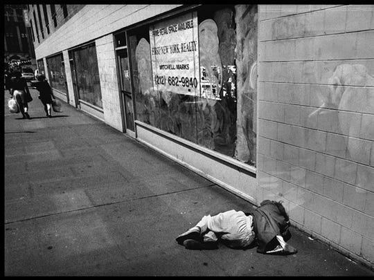 """""""Homelessness"""" by Melissa Tomich."""