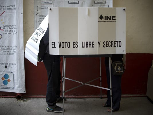 MEXICO-ELECTION-GOVERNORS