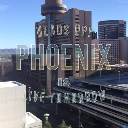 Phoenix is live on Snapchat Tuesday