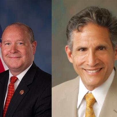 Left: Dr. Larry Bucshon Right: Dr. Richard Moss