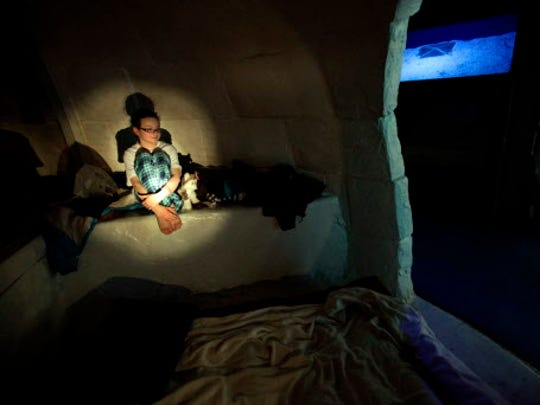 It doesn't get much cooler than actually getting to sleep in the igloo at the Milwaukee Public Museum.