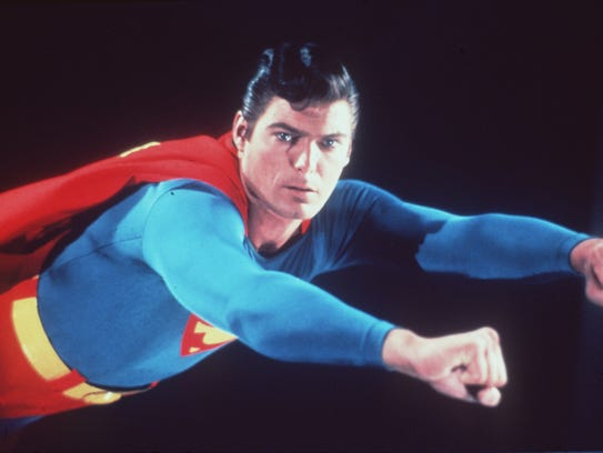 """Christopher Reeve stars in 1978's """"Superman: The Movie."""""""