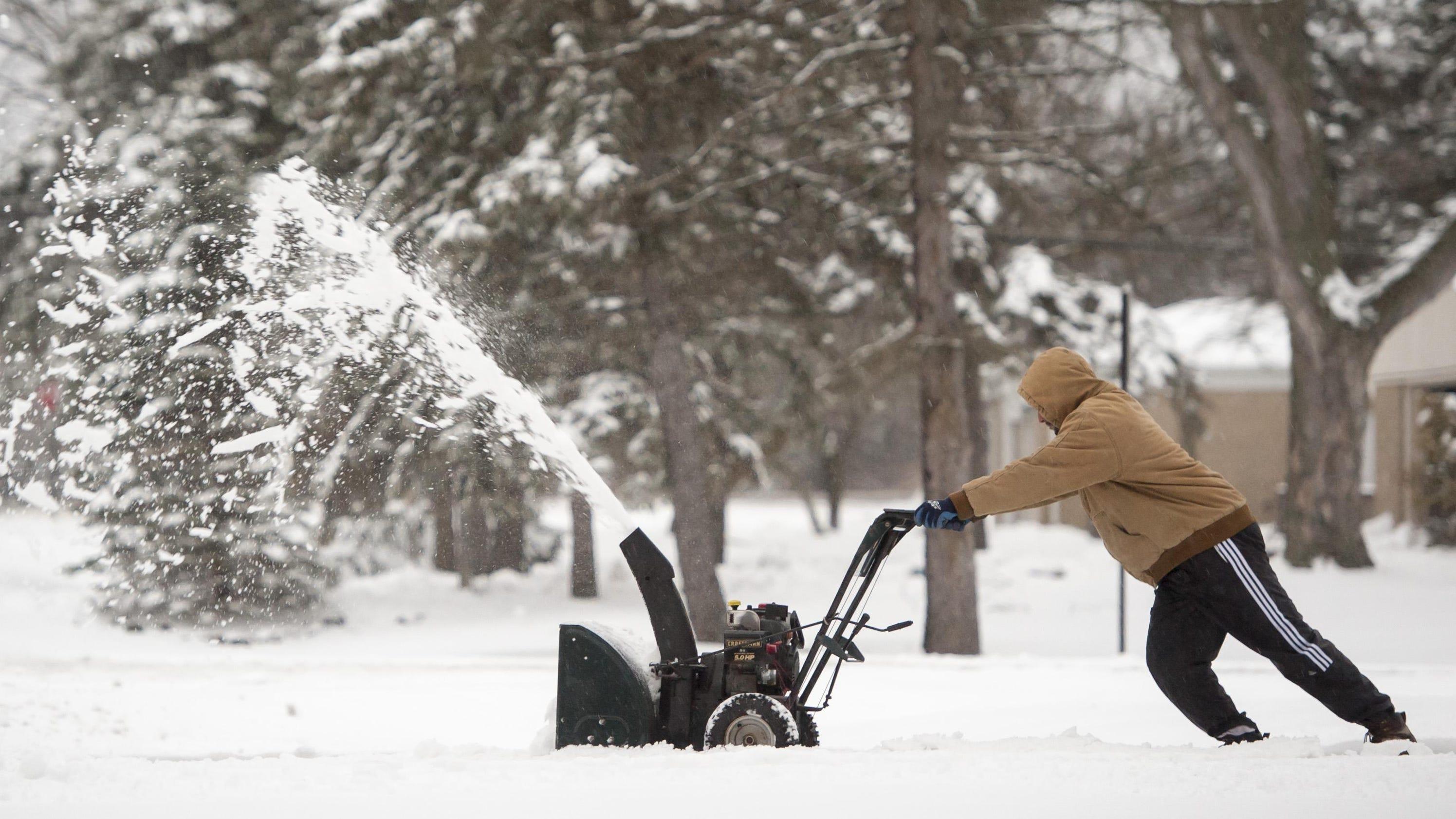Snow Thursday, then more seasonable weekend