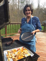Nancy Nagy taught herself to grill because her husband,