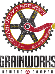 The logo for Grainworks Brewing Company in West Chester.