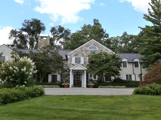 The estate in Bloomfield Township.