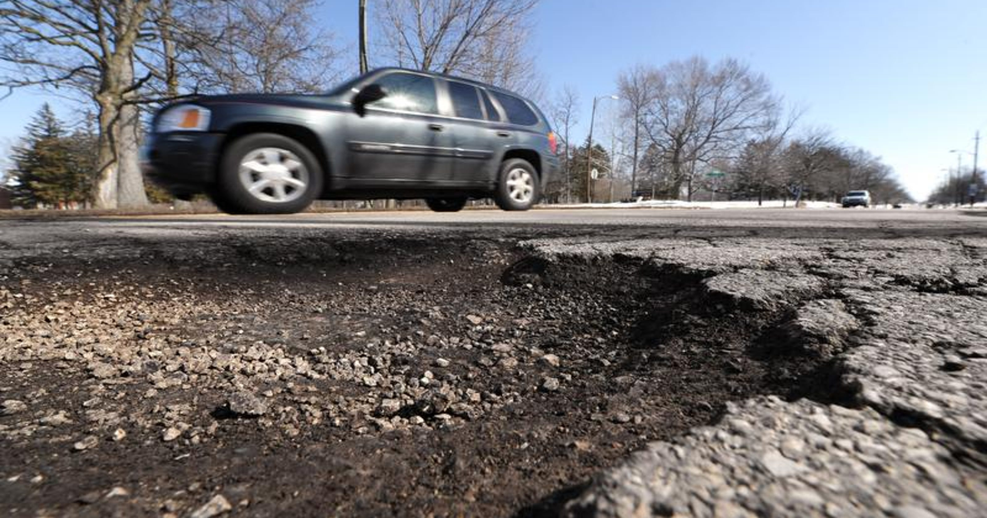 Indianapolis Area Plagued By Potholes