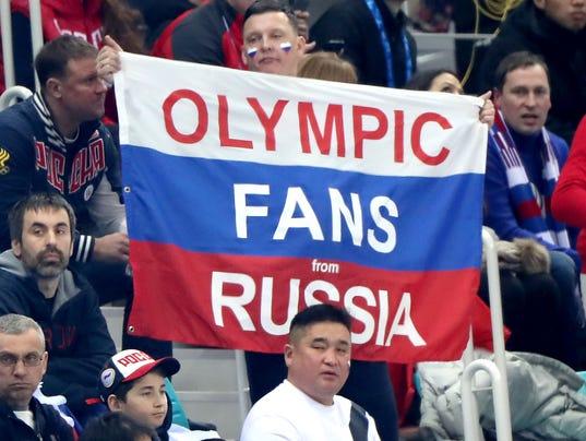 USP OLYMPICS: ICE HOCKEY-MEN TEAM GROUP B - SVK-RU S OLY KOR