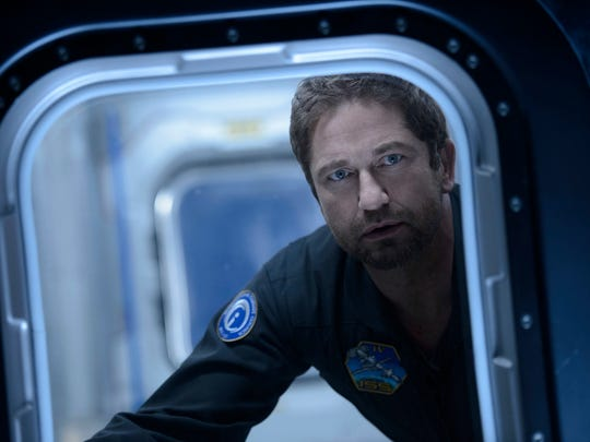 "This image released by Warner Bros. Entertainment Inc. shows Gerard Butler in a scene from ""Geostorm."" (Ben"