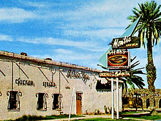 A 1959 postcard depicted the east face of the Hayden